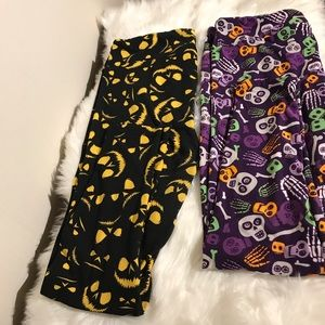 LuLaRoe Halloween Them Leggings Bundle